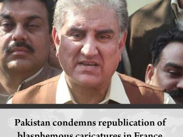 #Pakistan condemns republication of blasphemous caricatures in #France  Details:... 3