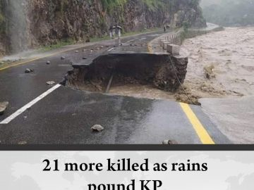 At least 21 persons were killed and many others #injured as #rain played havoc i... 3