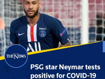#PSG star #Neymar tests positive for #covid19  Read more:   #TheNews 5