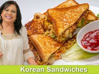 Korean Street Sandwiches Recipe in Urdu Hindi - RKK
