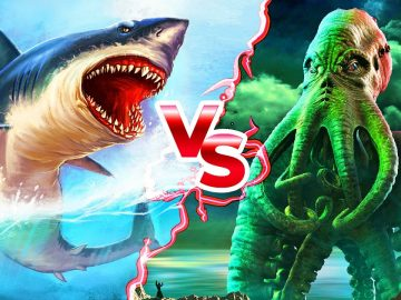 Megalodon VS Kraken: Who Would Win?