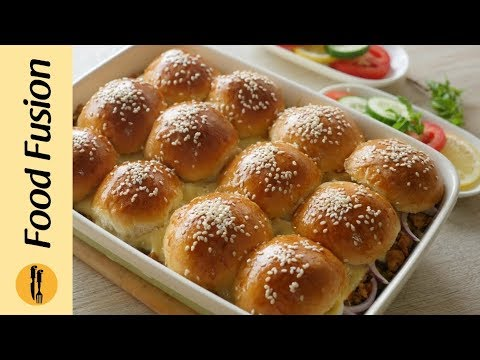 Chicken Sliders Recipe By Food Fusion