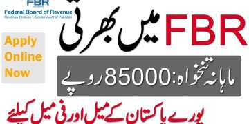 New  FBR Jobs , federal Board of revenue Jobs 2020, Apply Online Now FPSC FBR Jobs
