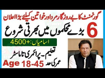 Latest Govenment Jobs 2020. Apply Online New Jobs update Today