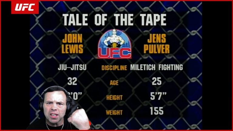 Jens Pulver breaks down his UFC 28 knockout while injured & earning inaugural lightweight title shot
