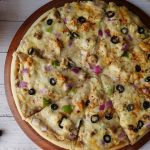 White Pizza without oven Recipe By Food Fusion