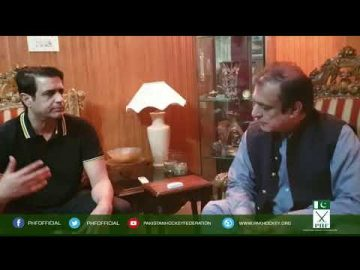PHF Secretary met Federal Minister for Information Shibli Faraz 12-09-2020