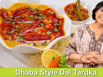 Dhaba Style Dal Tardka with Rice Recipe in Urdu Hindi - RKK