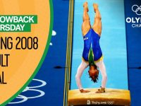 Full Women's Artistic Gymnastics Vault Final - Beijing 2008 | Throwback Thursday