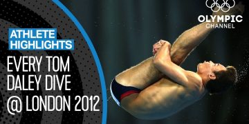 Tom Daley 🇬🇧  - 18-year-old Diver gaining Olympic Bronze! | Athlete Highlights 4