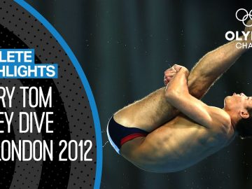 Tom Daley 🇬🇧  - 18-year-old Diver gaining Olympic Bronze!  Athlete Highlights 34
