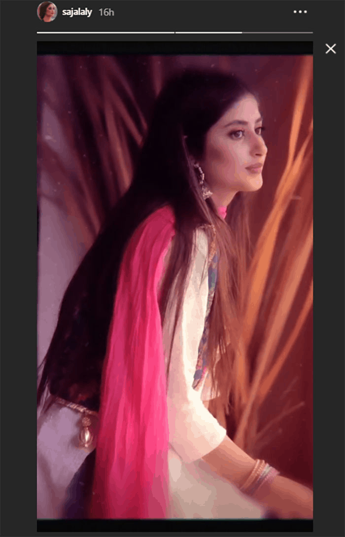 The Alif actress turned to Instagram and shared her dazzling photos. 6