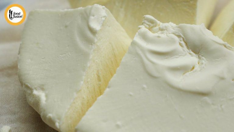 Homemade Mascarpone Cheese Recipe By Food Fusion