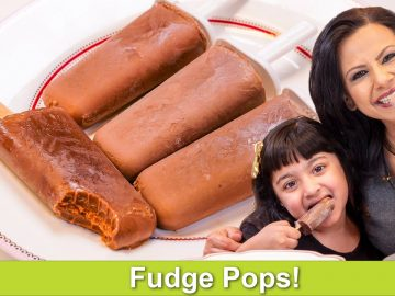 4 Ingredient Chocolate Ice Cream or Fudge Pops Recipe in Urdu Hindi - RKK