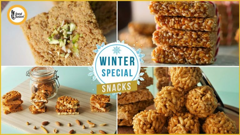 Winter Special Snacks Recipes By Food Fusion
