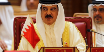 Bahrain's King Hamad says ties with Israel are a 'refined message' for peace. 19