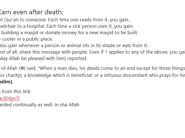 How Can I Earn after death. 6
