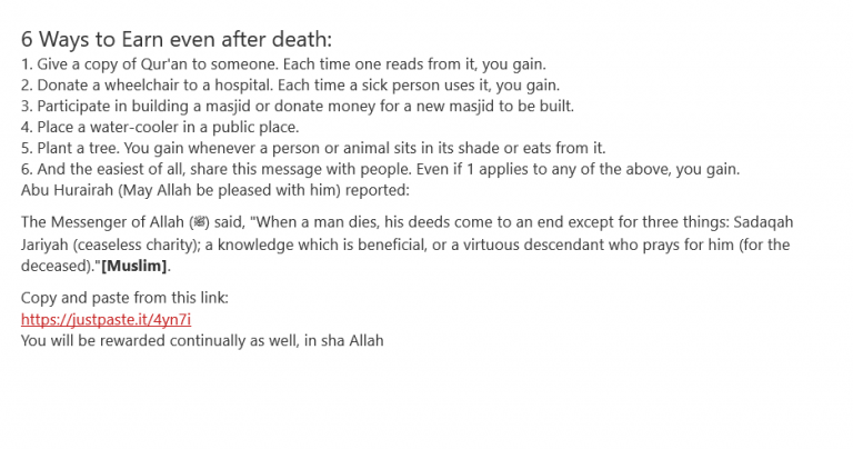 How Can I Earn after death. 1