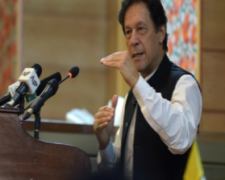 Prime Minister Imran Khan of Pakistan warns of rising Islamophobia. 2