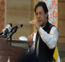 Prime Minister Imran Khan of Pakistan warns of rising Islamophobia. 32