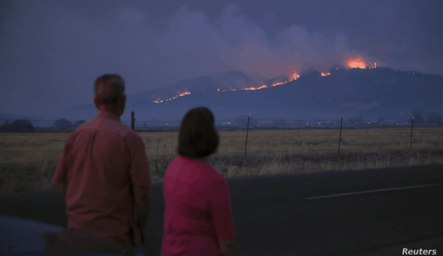 5 Oregon Towns 'Substantially Destroyed' by Wildfires Rage in US, 4
