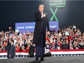 US elections: Trump campaigns in PA, McCain endorses Biden 10