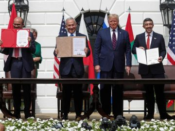 UAE and Bahrain forge ties with Israel at White House: In break with past, 1
