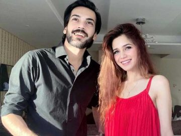 Aima Baig confirms relationship with Shahbaz Shigri 7