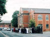 250 people 'faces police investigation' at the funeral of Blackburn Mosque 43