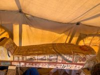 Egypt discovers 14 ancient tombs at Saqqara 36