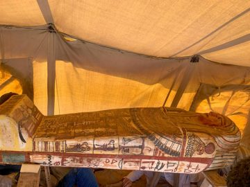 Egypt discovers 14 ancient tombs at Saqqara 1