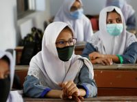Educational institutions across the country reopened on Tuesday after a six-month hiatus due to the coronavirus pandemic. 23
