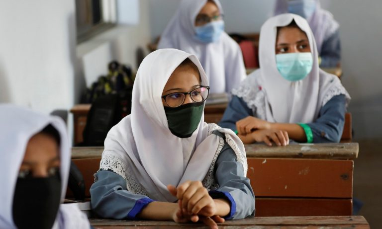 Educational institutions across the country reopened on Tuesday after a six-month hiatus due to the coronavirus pandemic. 1