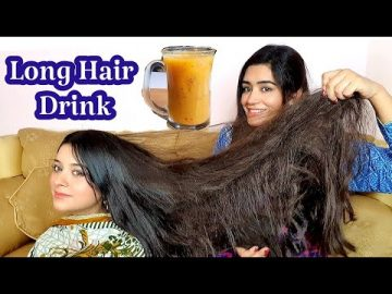 "Fast Hair Growth Drink, Baal Lambe aur Ghane kernay ka ""Secret"""