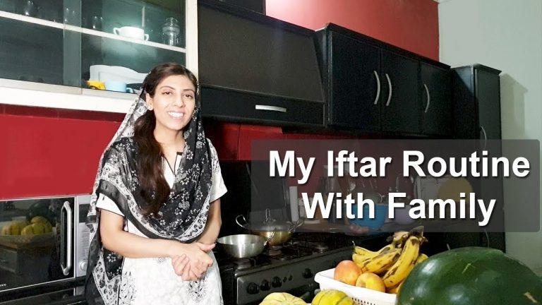 My Iftar Routine With Family Kitchen With Amna Recipes | Life With Amna