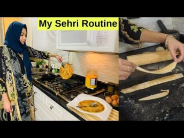 My Sehri Routine In Canada Ramadan 2020 | Sehri Kitchen Routine by (HUMA IN THE KITCHEN)