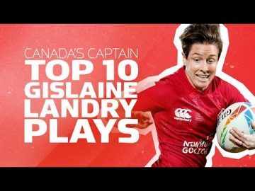 Canada's Captain | Top 10 Ghislaine Landry Plays