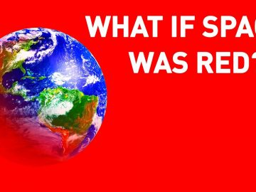 What If Space Was Red Instead of Black