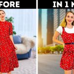 UPGRADE YOUR OLD CLOTHES IN A MINUTE || Creative ANd Quick Clothes Ideas And Alterations