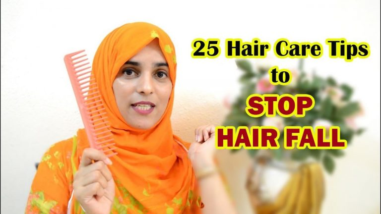 25 Tips to Stop Hair Fall & Treat Dry,Damage & Frizzy hair ............... (ENG SUB)