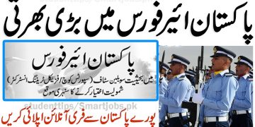 Join PAF ,Pakistan Airforce New Jobs Apply Online