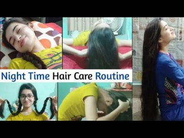 My Honest Night Hair Care Routine | 5 Steps Routine To Get Long & Healthy Hair