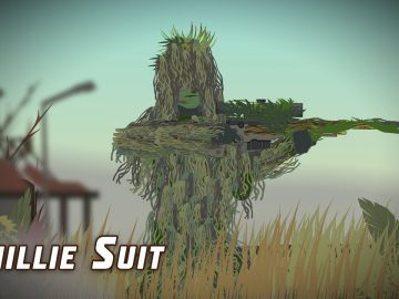 The Ghillie Suit (Sniper Tech)