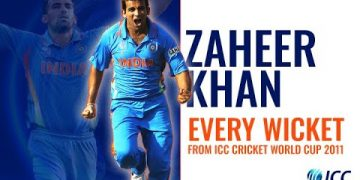 Every Zaheer Khan wicket from the 2011 Cricket World Cup
