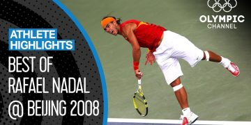 Rafael Nadal's golden journey at Beijing 2008 | Athlete highlights