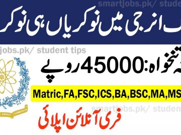 New Atomic energy jobs, Pakistan Atomic Energy Jobs 2020 Apply Online