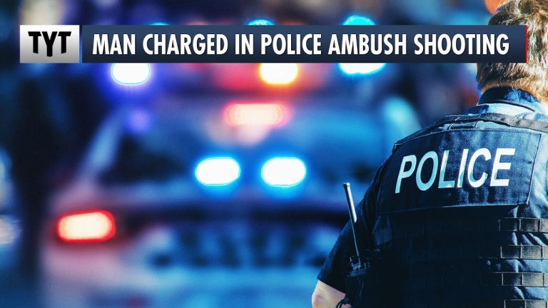 Suspect Charged In Police Ambush Shooting