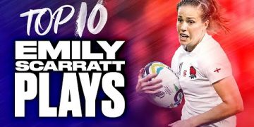 🌹 England's Rose  🌹 | Top 10 Emily Scarratt Plays 15