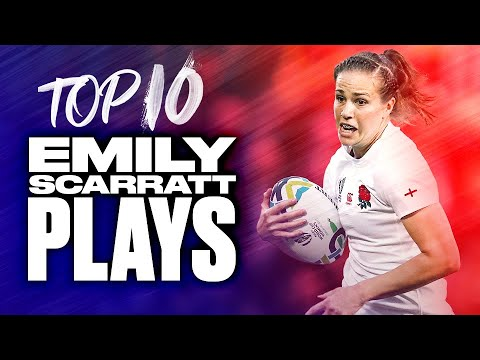 🌹 England's Rose  🌹 | Top 10 Emily Scarratt Plays 1