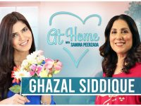 Ghazal Siddique on Positivity | Gets Emotional About Her Mother | #RewindatHome with Samina Peerzada